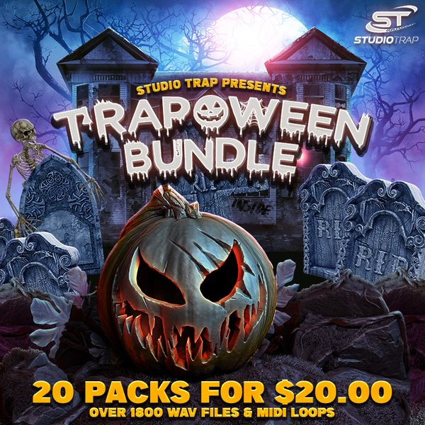 Download Sample pack Trapoween Bundle